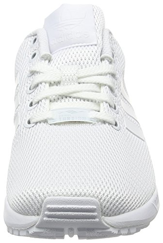 adidas Unisex Adults' Zx Flux Low-Top Sneakers White (White/ White/Clear Grey) mPvhG2khL