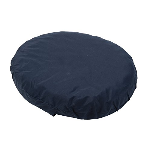 DMI Convoluted Foam Ring Donut Seat Cushion Pillow for Back Pain, Hemorrhoids and After Childbirth, 16 inch, Navy