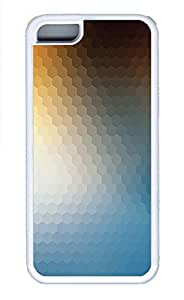 Cases For iPone 5C - Summer Unique Cool Personalized Design Hex Honeycomb Blue