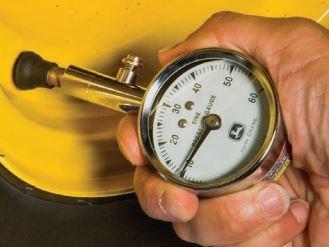 John Deere Dial Tire Gauge - TY25244