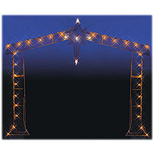 Outdoor Lighted Nativity Silhouette - 6