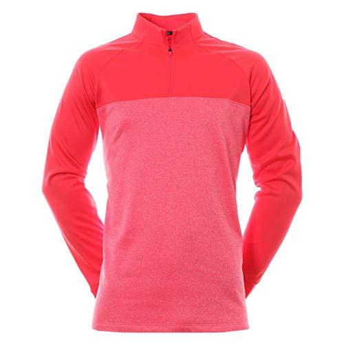 NIKE Therma Core Half-Zip Men's Golf Top (Siren Red, X-Large) - Nike Core Tight