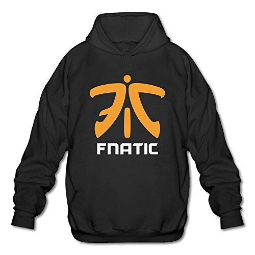 ONluu Men's Cool Fnaticclogo Hooded Sweatshirt