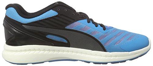Puma Ignite V2 Jr - Zapatillas de running Unisex Niños Azul - Blau (atomic blue-black-aged silver 01)
