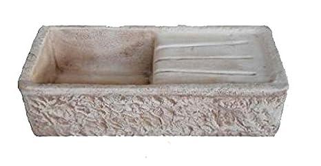 Lavello Lavabo in Cemento da Giardino Lavello - Misura 80x40x20 cm ...