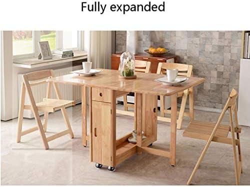 Cocina Plegable Mesa De Comedor Y Silla Instalación Libre Huella ...