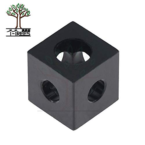 Value-Home-Tools - Openbuilds cube corner V-slot three way corner bracket corner cube prism connector wheel regulator