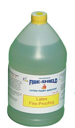 Latex Paint Additive 202 Flame Retardant - Fire Proofing Agent for Paint - 1 Gallon ()