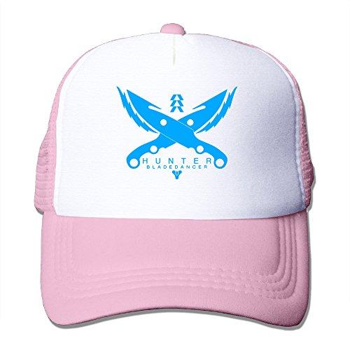CCbros Destiny Warlock Logo Trucker Mesh Back Hats Cap One Size Fit All Pink