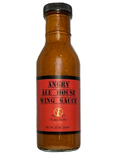 - Angry Ale House Hot Wing Sauce - Blended in Small Batches with Farm Fresh Herbs for Premium Flavor and Zest
