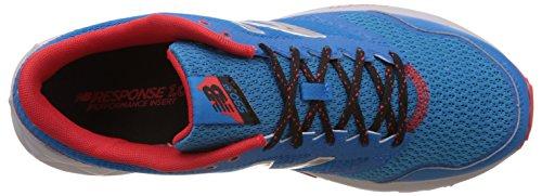 new balance MenS 590 V2 Blue and Orange Running Shoes - 10 UK/India (44.5 EU)