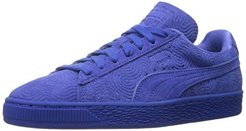 Estilo de la zapatilla de deporte Puma Suede Classic Colo de Wn Classic Dazzling Blue