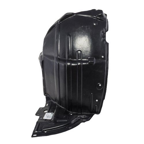 CarPartsDepot, Front Fender Liner Splash Shield Left (Driver Side) Plastic Assembly, 378-23142-11 IN1248102 63845AM600