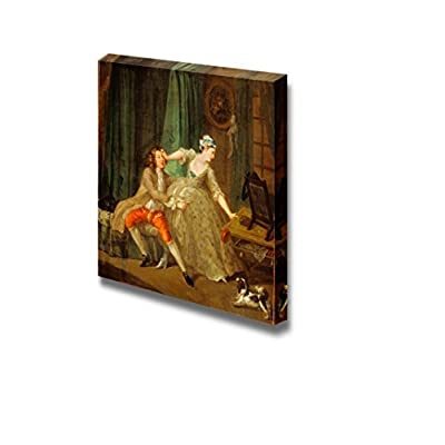 Before by William Hogarth - Canvas Print Wall Art Famous Oil Painting Reproduction - 12