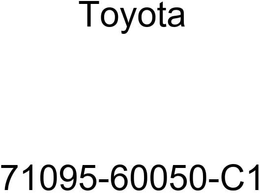 TOYOTA Genuine 71095-60050-C1 Seat Back Cover Sub-Assembly