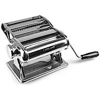 Lakeland Silver Pasta Making Machine - Make Lasagne, Fettuccine or Tagliatelle