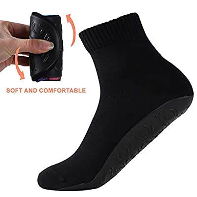 Barefoot Quick-Dry Sand Beach Socks, Breathable Seamless Yoga Sock With TPE Sole by RANDY SUN