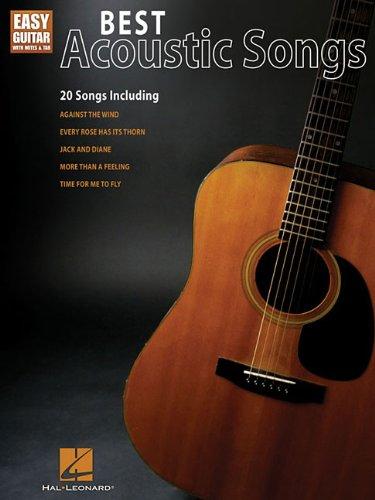 Best Acoustic Songs for Easy Guitar: Easy Guitar with Notes and Tab (Easy Guitar with Notes & Tab) PDF