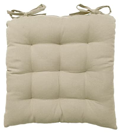 Now Designs Spectrum Solid Chair Pad, Aloe (1808438) Danica Imports Ltd. 1808438aa