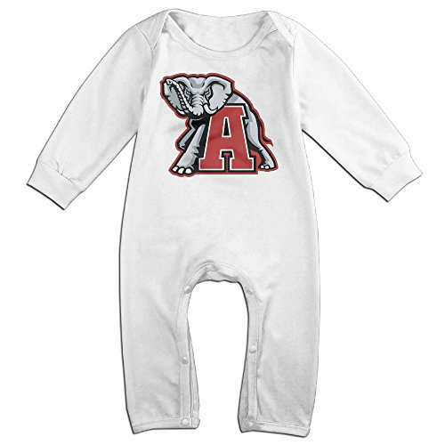 Ahey Babys University Of Crimson Tide Long Sleeve Climbing Clothes 24 Months