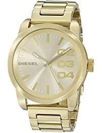 bd09894459f7 Men s DZ1466 Double Down Gold Watch. Diesel