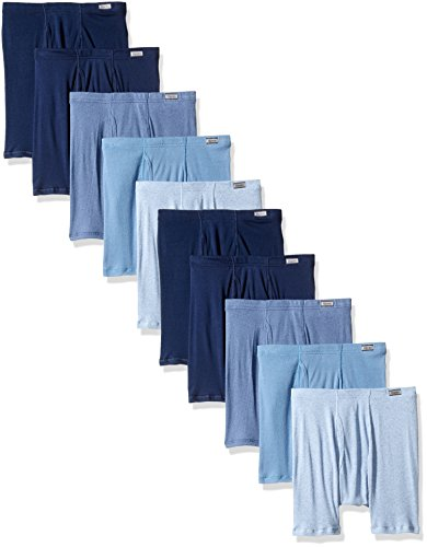 Comfort Soft Boxer Briefs, Assorted, Large ()