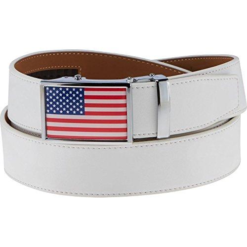 NEW-Nexbelt-Heritage-Golf-Series-Cut-to-Fit-Ball-Marker-USA-American-Flag-Belt