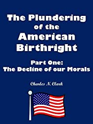 The Decline of our Morals (The Plundering of the American Birthright Book 1)