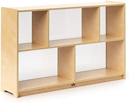 Whitney Brothers 30 Preschool Storage Cabinet Acrylic Bk