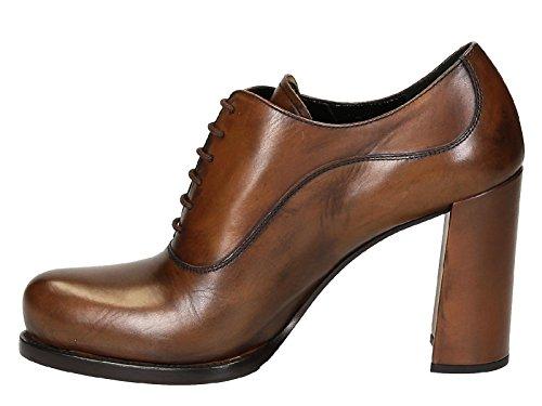 Prada tacón de Número alto Calf cordones F0134 con 3M0L modelo Brandy Aguardiente zapatos de 1T156G en f1qTfr