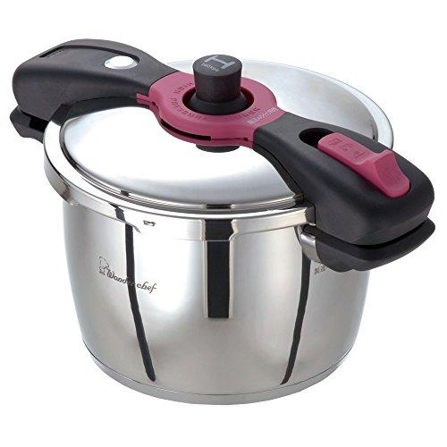 圧力鍋 魔法のクイック料理 両手圧力鍋5.5L パッキン付 レシピ本付