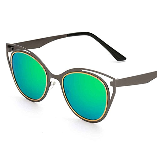 polarisées cadre soleil Ooutdoor lunettes Meisijia de lunettes de coloré Unisexe verres Lunettes 4 métallique 4wC4IqXR