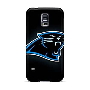 TimeaJoyce Samsung Galaxy S5 Shock Absorption Cell-phone Hard Cover Provide Private Custom Vivid Carolina Panthers Pictures [cJf3212iutZ]