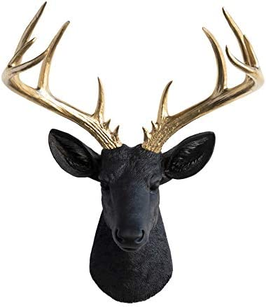 Near and Deer 14-Point Fake Deer Head