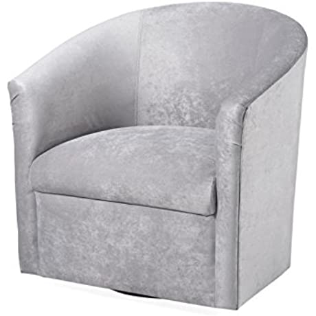 Elizabeth Swivel Chair Silver