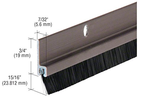 long bristle weatherstrip - 9