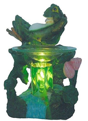 amazon com new laidback lazy green frog fragrance oil burner tart