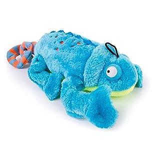 goDog Amphibianz Tough Plush Extra Large Dog Toy with Chew Guard Technology, Chameleon
