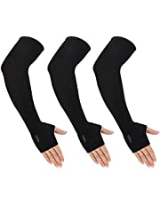 Cooling UPF50 Sun UV Protection Arm Sleeves with Thumb Hole for Men Women Outdoor,Golfing,Cycling,Fishing,Driving