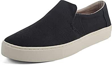 Men's Lomas Slip-On Black Heritage Canvas 7.5 D US