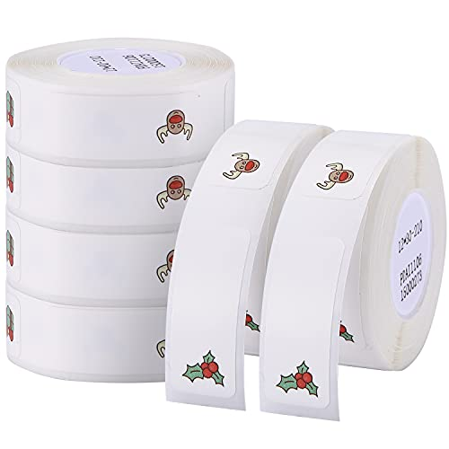 Adhesive D11 Labels Maker Tape Thermal Barcode Label Printer Paper Waterproof Stickers (1230mm-colorful6)