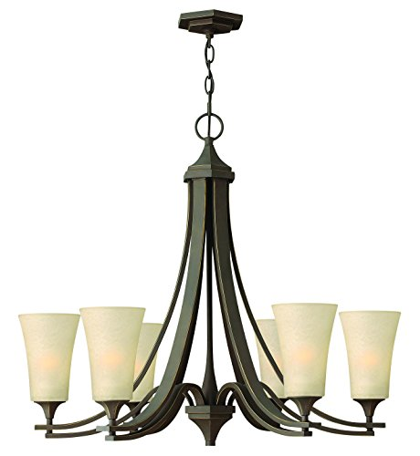 Hinkley Lighting 4636OZ Brantley 6-Light Outdoor Light, Oil Rubbed Bronze