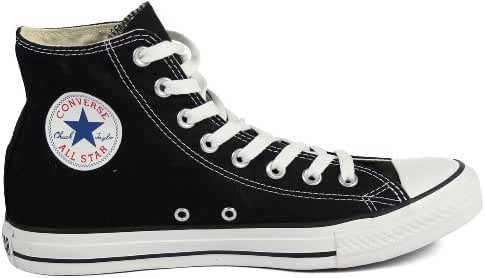 Karmaloop Converse The Chuck Taylor All Star Core Hi Sneaker Black (12 D(M) US, Black/White)