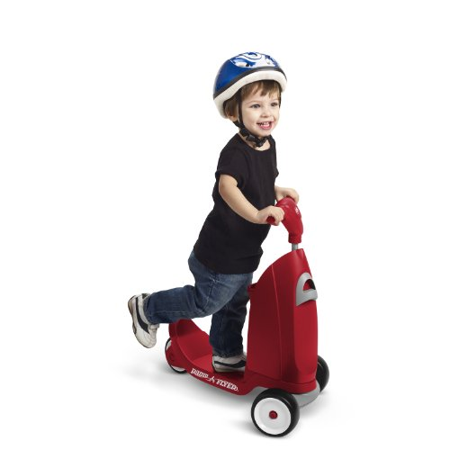 042385110387 - Radio Flyer Ride 2 Glide Ride On carousel main 2