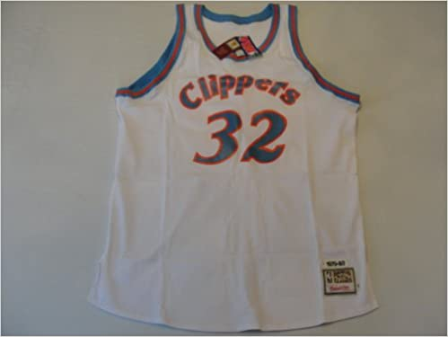 cbfca912b908a San Diego Clippers Authentic 1979-80 Bill Walton #32 White Jersey By  Mitchell & Ness Size 56 Misc.