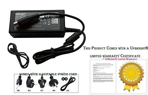 UpBright NEW 4-Pin DIN 42V 1.38A AC Adapter For Seiko Epson M247A M285A M248A TM-C3500 TMC3500 TM-C3500-11 GP-M830 GP-M832 GP-C830 GP-C832 GP-C831 GP-M831 TM-C3400 TM-C700 ColorWorks DC Power Supply by UPBRIGHT