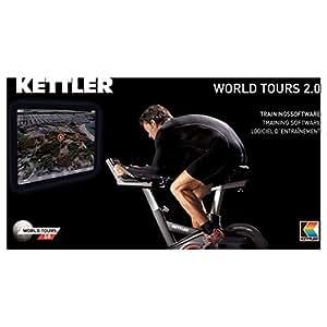 Kettler World Tours 2.0 - Software de entrenamiento de ciclismo