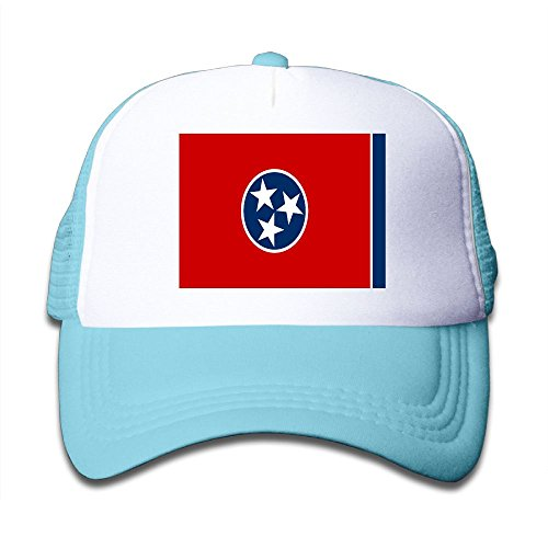 - Futong Huaxia Flag Of Tennessee Boy & Girl Grid Baseball Caps Adjustable sunshade Hat For children