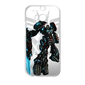 HTC One M8 Cell Phone Case White megatron gift E5665895