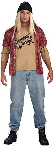 Forum Novelties Men's Grunge Guy Costume, Multi, Standard